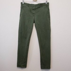 Gap Khaki Skinny Pants Green Size 8